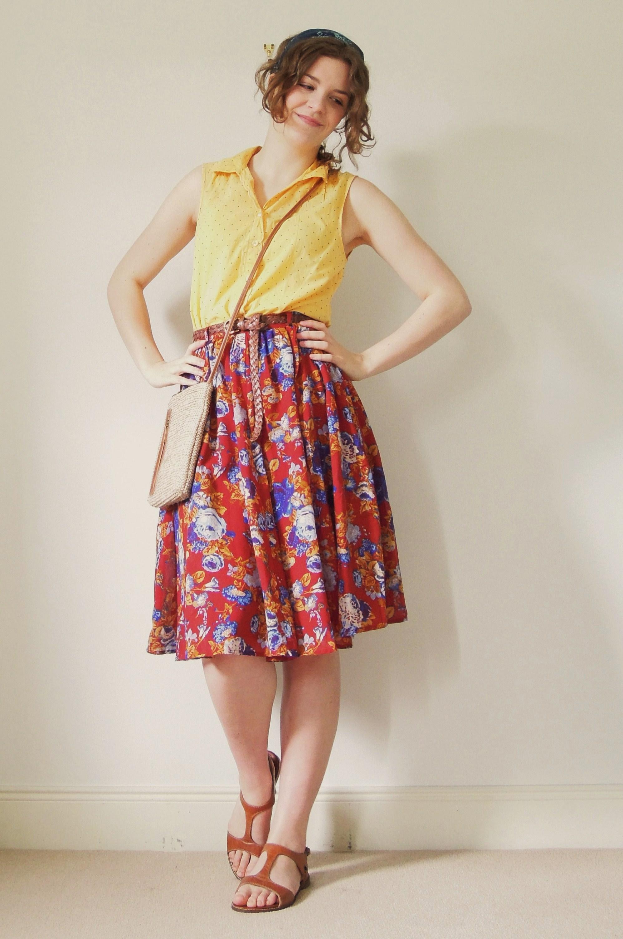 Tesco f f yellow dress ne york