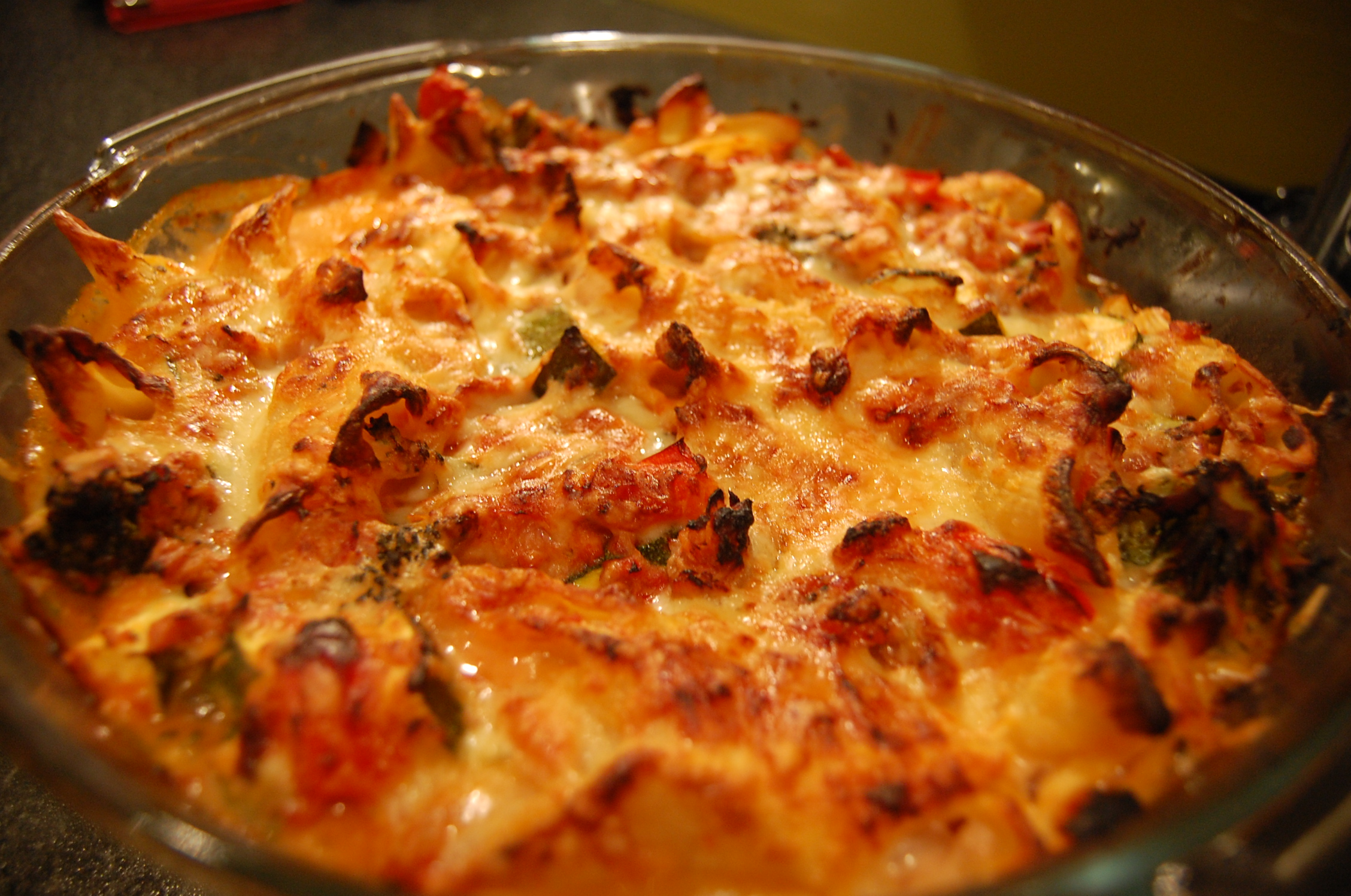 Making Tuna Pasta Bake Tvt
