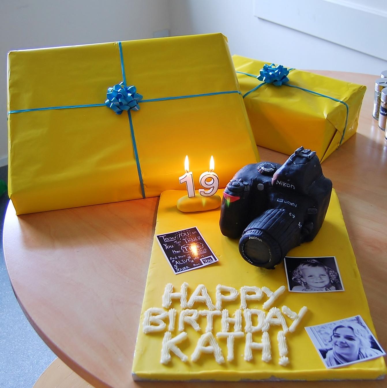 CELEBRATIONS: Early Birthday Treats!